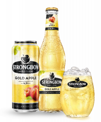Cider-Strongbow-Goldapple-Brauunion-Graz